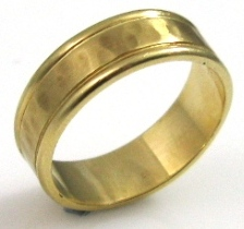 טבעת נישואין דגם תמי זהב צהוב