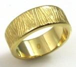 טבעת נישואין דגם איזמה זהב צהוב