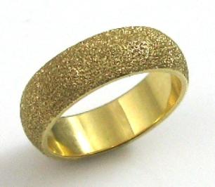 טבעת נישואין דגם אטילה זהב צהוב