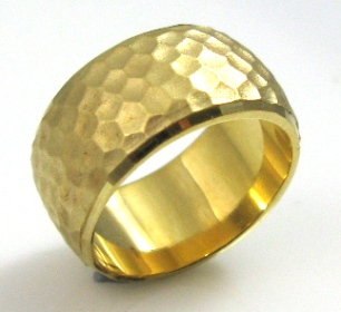 טבעת נישואין דגם גלינדה