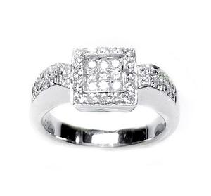 טבעת אריקה ביהלומים