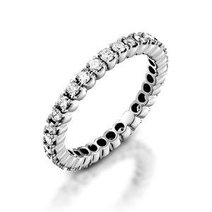 טבעת יהלומים נצחית טניס דגם אמור אטרנה