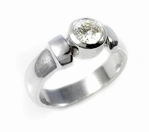 טבעת יהלום סוליטר לאירוסין דגם ברוקלין