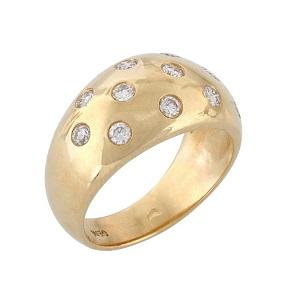 טבעת יהלומים דגם ליל כוכבים