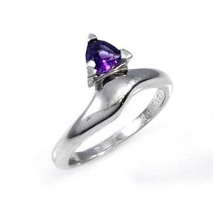 טבעת אמטיסט סוליטר דגם חני