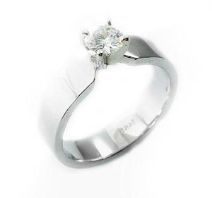 טבעת יהלום סוליטר לאירוסין דגם בריג'ט