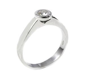 טבעת יהלום סוליטר לאירוסין דגם קורטני