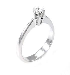 טבעת יהלום סוליטר לאירוסין דגם סוזנה