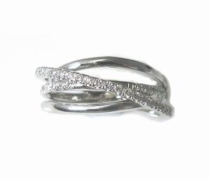 טבעת יהלומים דגם זואי
