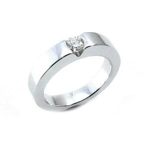 טבעת יהלום סוליטר לאירוסין דגם שקיעה