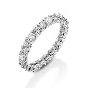 טבעת יהלומים נצחית טניס דגם נצחיות שלנו