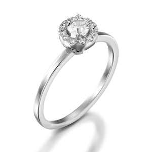 טבעת יהלומים לאירוסין דגם פלנטה