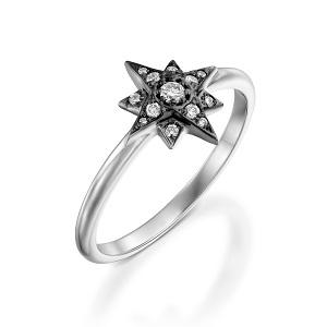 טבעת יהלומים דגם סופרסטאר