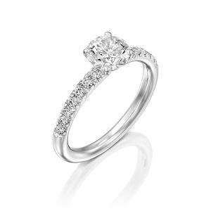 טבעת יהלומים דגם תמר