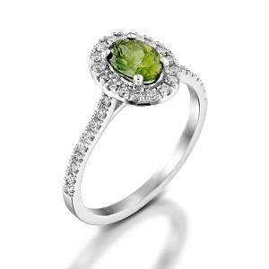 טבעת פרידוט ויהלומים דגם מורן