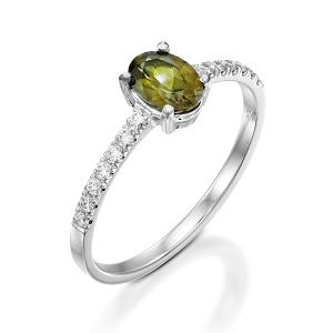 טבעת פרידוט ויהלומים דגם עדי